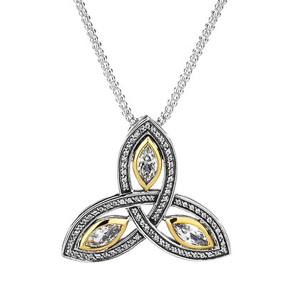 """Trinity Knot"" Necklace"