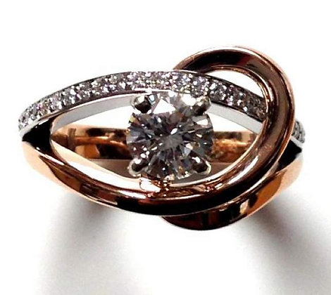 """Taryn"" Diamond Engagement Ring Mounting"