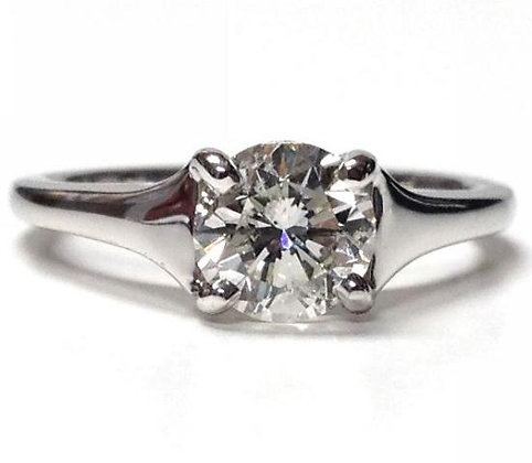 """""""Kaylee"""" Solitaire Ring Mounting"""