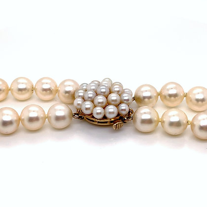 Double Strand Akoya Cultured Pearls