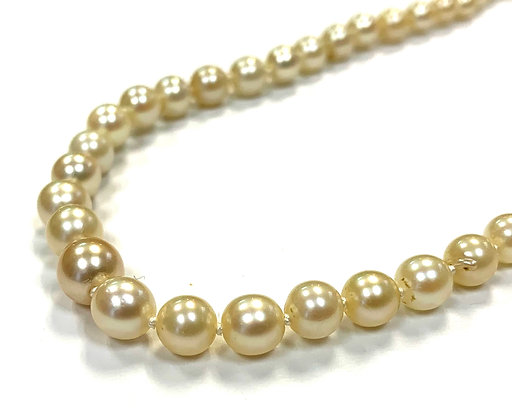 Graduated Cultured Pearl Strand 17.5""