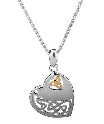 """Celtic Heart"" Necklace"