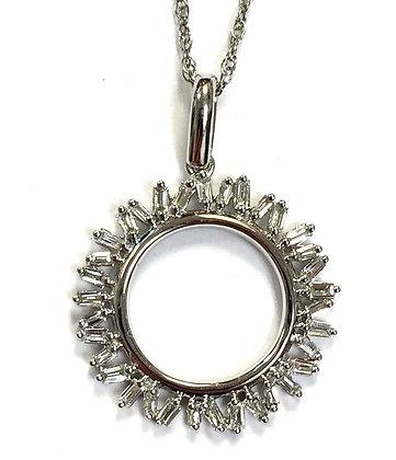 Diamond Sun Pendant