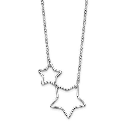 Graduated Stars Necklace