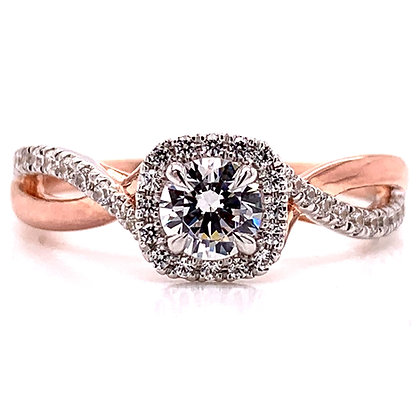 """""""Raychelle"""" Engagement Ring Mounting"""