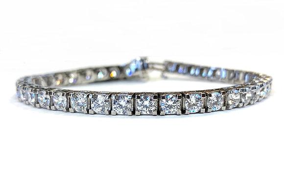 Diamond Tennis Bracelet - 12.00 Carats