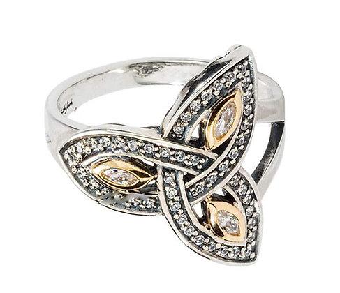 """""""Trinity Knot"""" Ring"""
