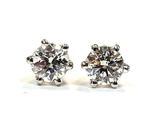 Diamond Stud Earrings 0.21 CTW