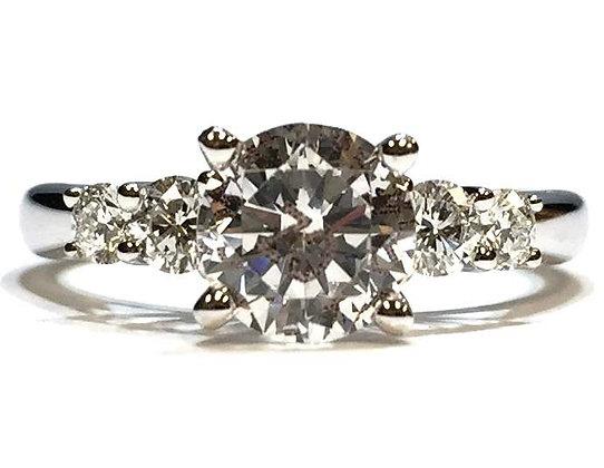 "Scott Kay ""The Crown"" Diamond Ring Mounting"