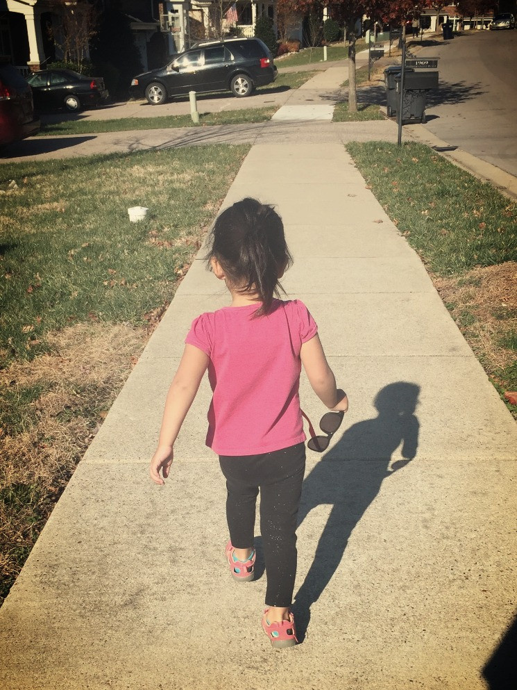 Brielle, neighborhood walk