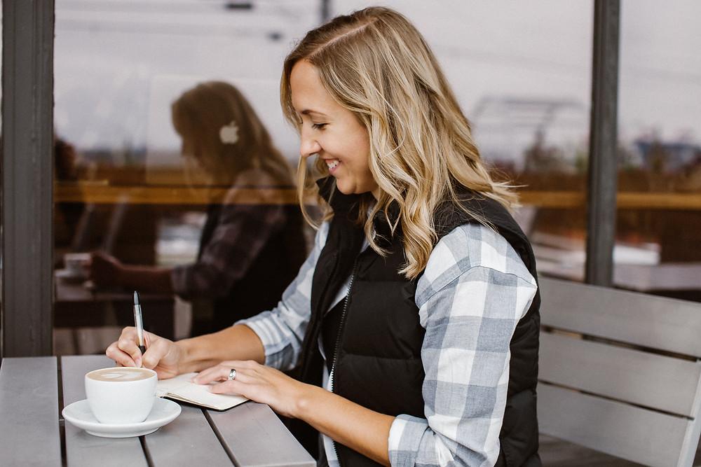 Lauren writing