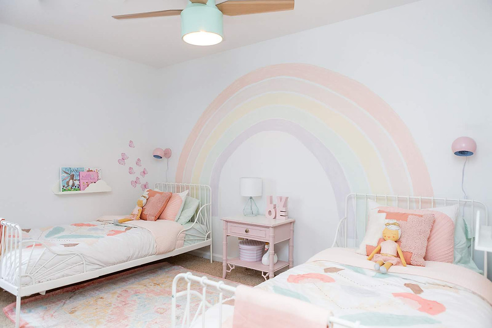 rainbow girls' room