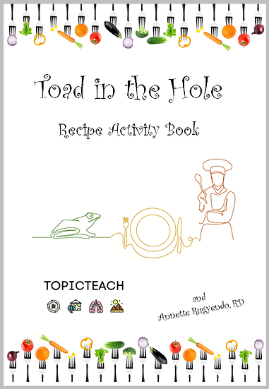 Toad in the Hole Activity Book