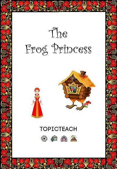 The Frog Princess Activity Book