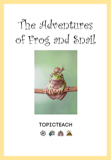 Freebie Adventures of Frog and Snail