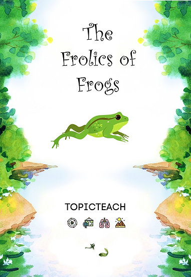 The Frolics of Frogs Activity Book