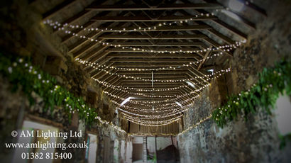 Wedding Fairy Light Canopy.