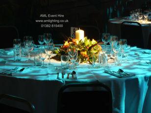 Wedding Table Lighting