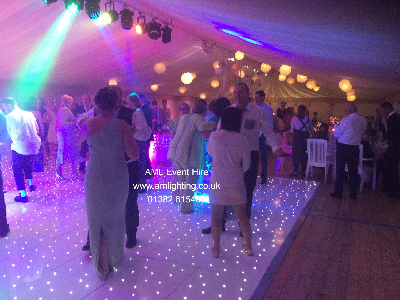 Wedding LED Dance Floor and Lighting