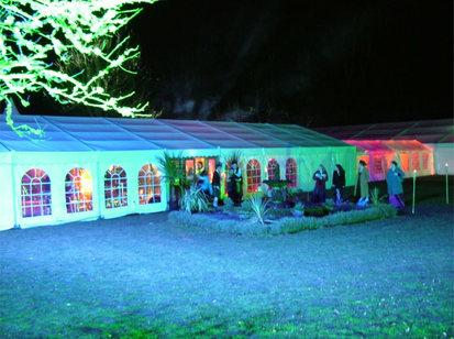 Marquee Wedding Lighting St Andrews