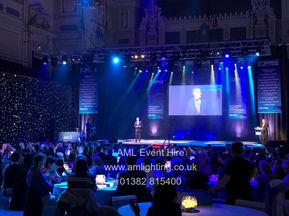 AML Event Hire - Dundee Sports Awards