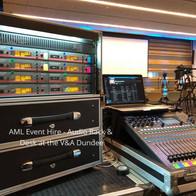 Allen & Heath QU16 - Sennheiser radio Mic
