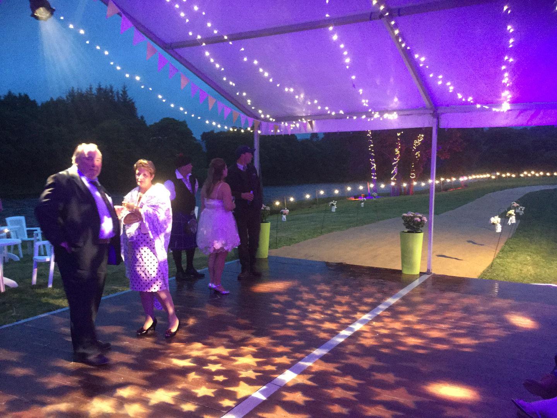 Star Gobo Lighting with Fairy Lights