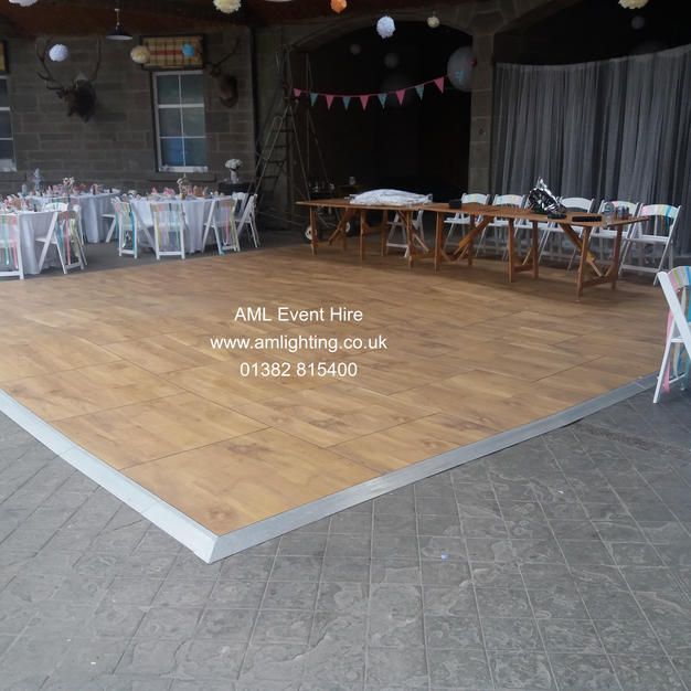 Auckland Oak Dance Floor at Errol Park