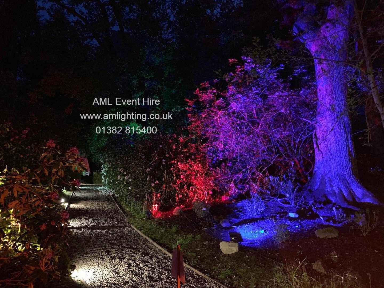 LED Garden Lighting Dundee