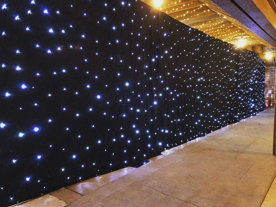 AML Event Hire - Star Cloth