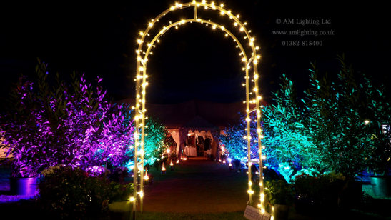 Wedding Archway Lighting