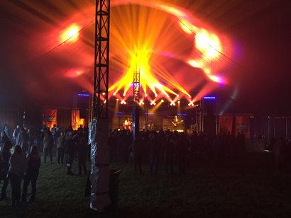 Marquee Lighting in Kirriemuir, Angus