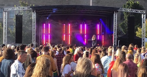 Dundee Pride Stage Lighting
