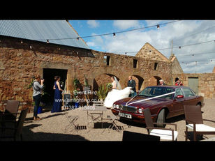 LED Festoon Lighting for at the Cow Shed, Crail