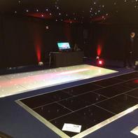 Sample sizes of dance floors