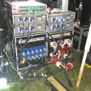 Mains Distro Live Music Set Up