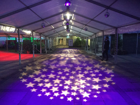 Gobo Lighting Hire at DUSA Dundee