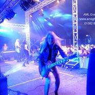 Lighting at Bonfest Music Festival Kirri