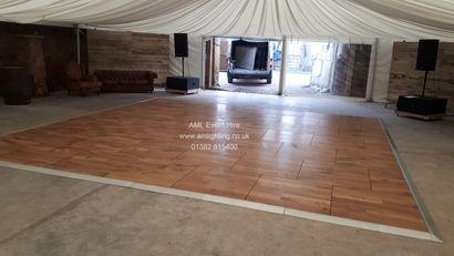 AML Oak Dance Floor