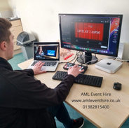 AML Event Hire - Live Streaming at Webster Theatre