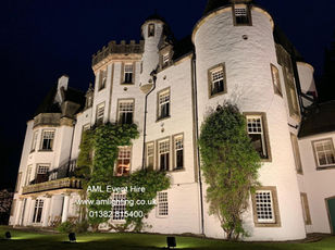 Country Estate Exterior Lighting Perthshire