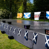 Outdoor Stage at Monikie Country Park for Dancemania