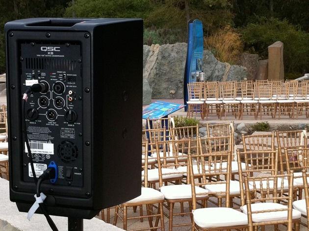 Wedding PA System
