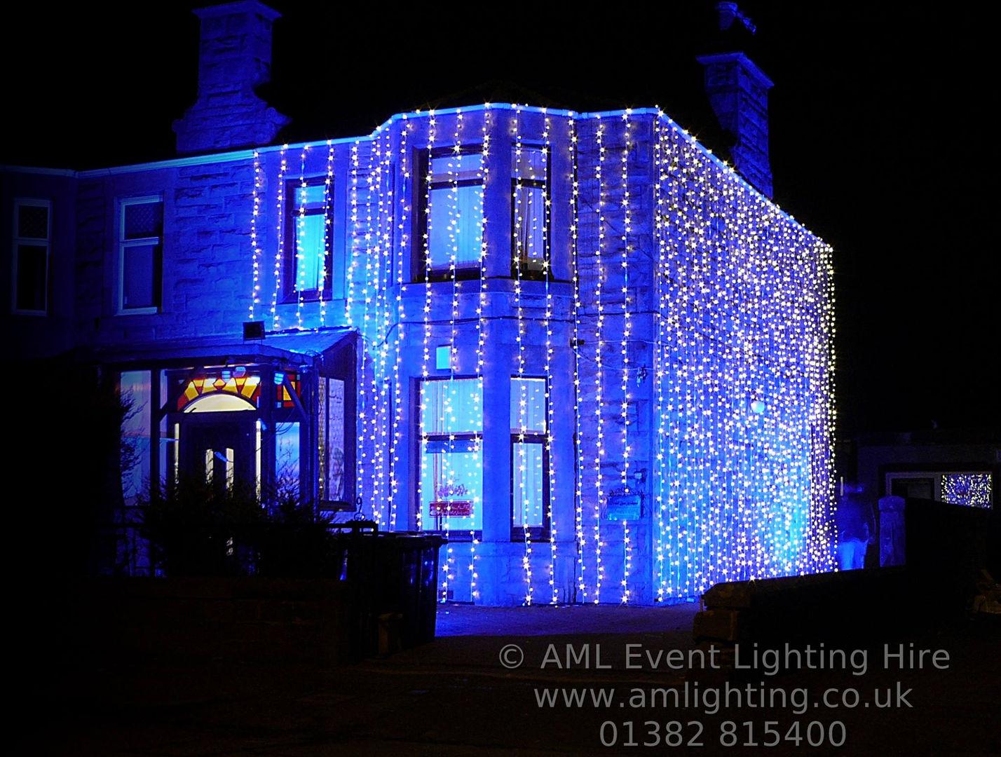 Asian Wedding Fairy Light House