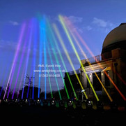 Rainbow Moving Lights in Dundee