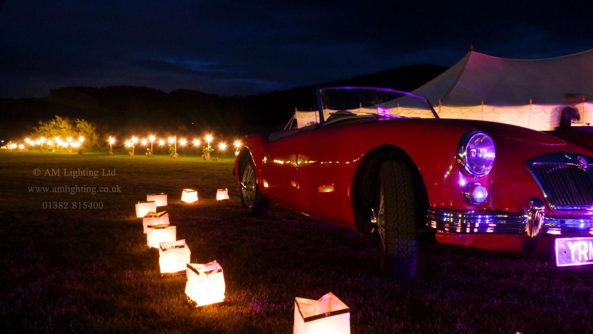 Luxury Wedding Lighting