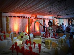 Asian Wedding Lighting at Fingask