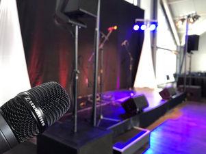 AML Event Hire Sennheiser Radio Mic.