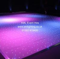 24x24 White LED Dance Floor