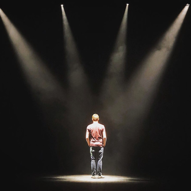 One Man on a Stage